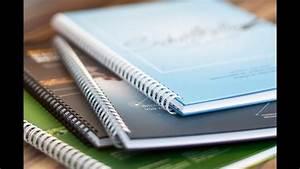 Buch Selber Binden Spirale : spiralbindung hardcover modern selbst gestalten druck deine diplomarbeit youtube ~ Frokenaadalensverden.com Haus und Dekorationen