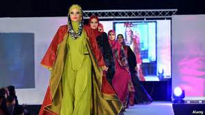 Muslims And Fashion Hijab Couture The Economist