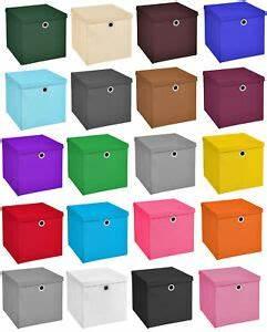 Aufbewahrungsbox Mit Deckel Stoff : 3er set 32x32x32 aufbewahrungsbox spielkiste regalkorb faltkiste korb stoff box ebay ~ Watch28wear.com Haus und Dekorationen