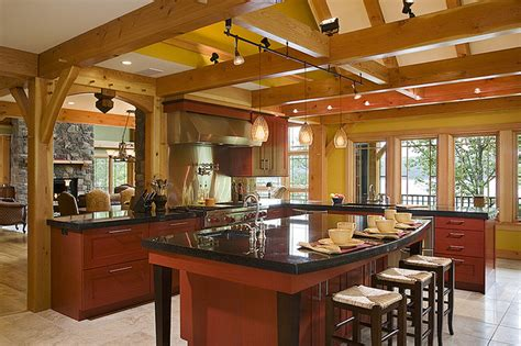 a frame kitchen ideas timber frame kitchen designs traditional kitchen new york by woodhouse post beam homes