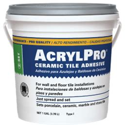 acrylpro ceramic tile adhesive sds acrylpro 174 professional tile adhesive custom building