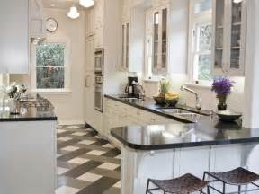 miscellaneous applying black and white floors in kitchen pattern interior decoration and