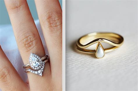 stunning stacked wedding ring sets youll