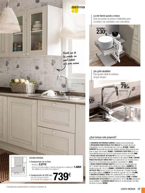 cocina compacta modelo nevada de catalogo leroy merlin