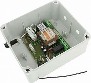 boitier de commande de porte enroulable el6v1q porte With commande porte garage electrique