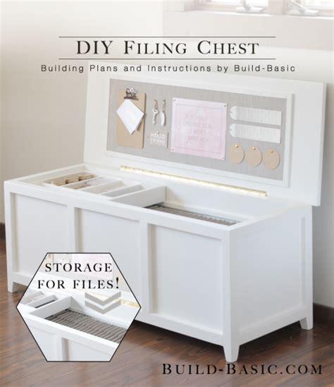 build  diy filing chest build basic