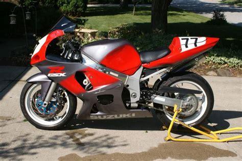 2002 Suzuki Gsxr by Track Bike 2002 Gsxr 600 Suzuki For Sale On 2040motos
