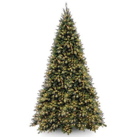 duncan fir tree national tree pre lit 12 quot fir hinged artificial tree with 1400 clear lights
