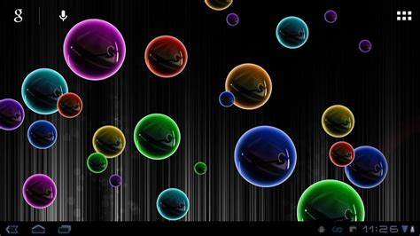 neon bubble  wallpaper youtube