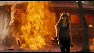 I Am Number Four - Teresa Palmer Burns down the house ...