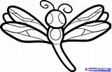 Dragonfly Draw Coloring Pages Step Cartoon Animal Printable Drawing Template Simple Print Animals Dragoart Line Sketch Prints Templates Steps Body sketch template