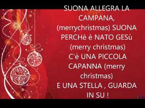 canzoni 2015 testi canzone di natale 2015 merry buon natale a te