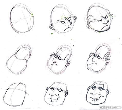 simple tricks  draw   cartoons traditional