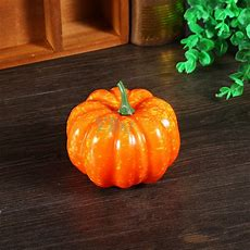 Fake Artificial Small Pumpkin Foam Mini Orange Pumpkin