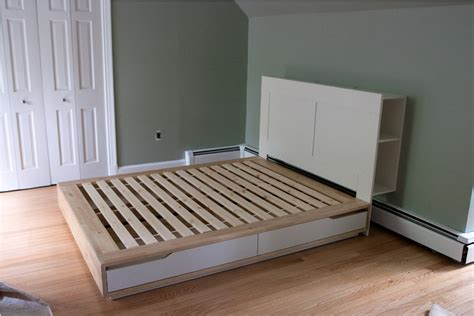 Mandal Ikea Bett by Ikea Mandal Bed Frame With Storage Inspire Furniture