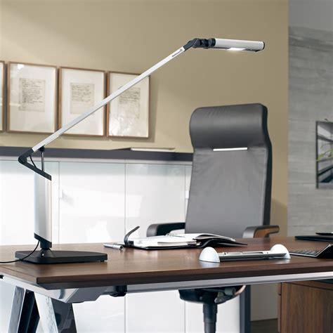 Waldmann Lighting by Minela Led Desk L Silver 3500k Waldmann Lighting