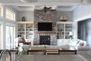 home of the month lake house sources simple stylings With best brand of paint for kitchen cabinets with blue mercury glass candle holders