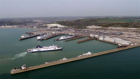 Fire on cargo ship at Dover's Eastern Docks