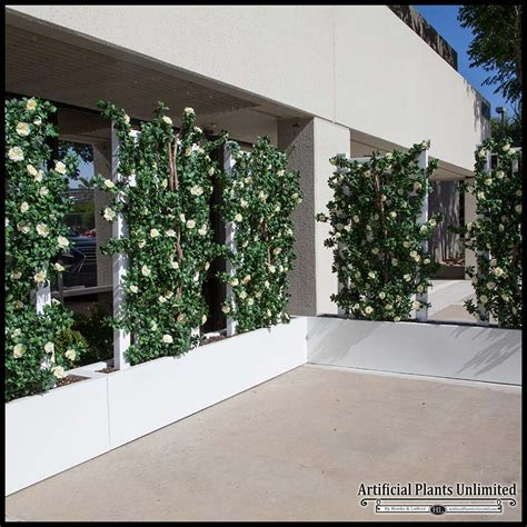 indoor space dividers  barriers artificial plants