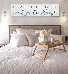Give, It, To, God, And, Go, To, Sleep, Canvas, Sign, Farmhouse