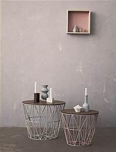 Metallkorb Mit Deckel : der metallkorb als beistelltisch mit einem deckel aus holz wir bieten ihnen den beistelltisch ~ Orissabook.com Haus und Dekorationen