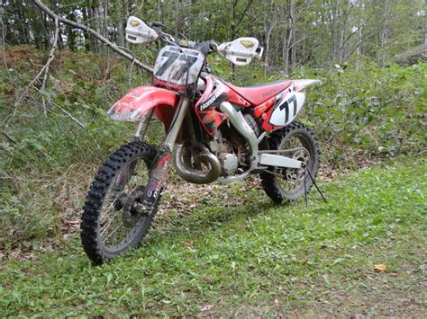 Dirt Bike Riding In The Woods