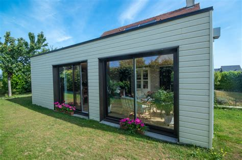 extension en ossature bois 224 colleville calvados