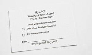 wedding rsvp cards x50 a7 amazoncouk kitchen home With wedding rsvp cards wording uk