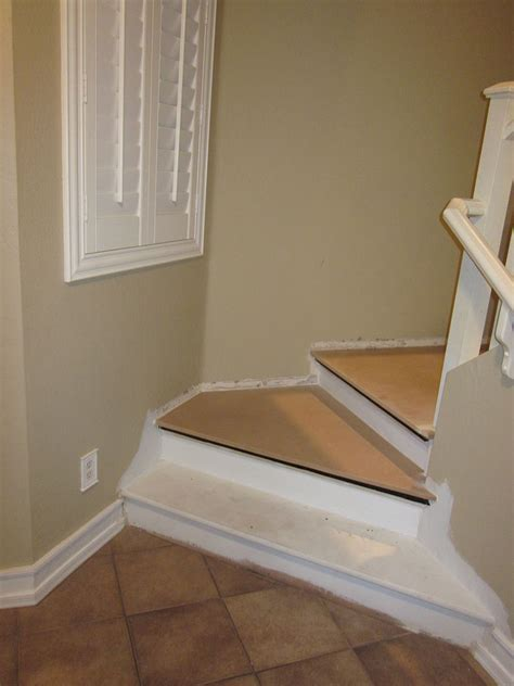 hometalk removing carpet  stairs  painting