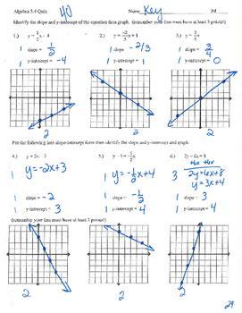slope intercept form practice worksheet practice slope intercept form