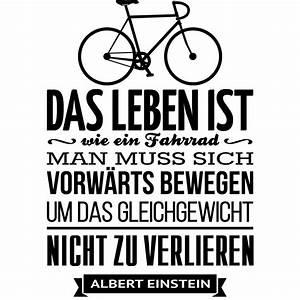 Das Leben Ist Wie Ein Fahrrad : sticker das leben ist wie ein fahrrad albert einstein stickers citations allemand ambiance ~ Orissabook.com Haus und Dekorationen