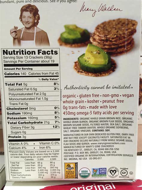 marys  crackers organic  grain crackers