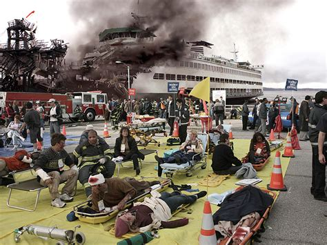 Ferry Boat Crash Episode by The Catastrophes To Hit Grey S Anatomy Grey