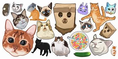 Funny Cats Cursor Custom Collections Held