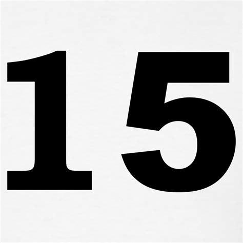 number - 15 - fifteen T-Shirt   Spreadshirt