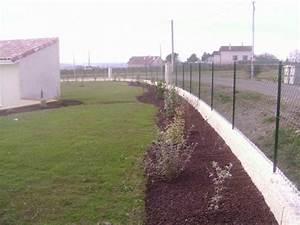 Muret De Cloture : muret de cl ture paysagiste toulouse les jardins du sud ~ Melissatoandfro.com Idées de Décoration