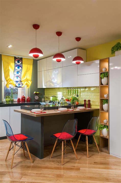 decoration des petites cuisines cuisine créative aux influences modernes