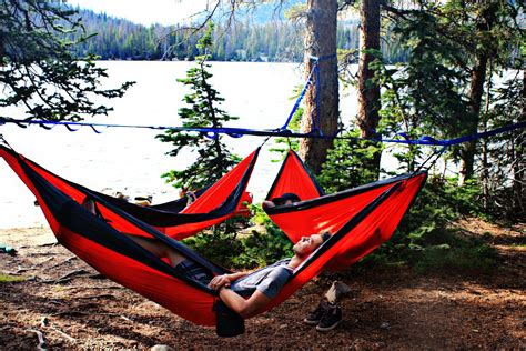Hanging Hammock by Create Hammock Commune With Tree O Frame Gearjunkie