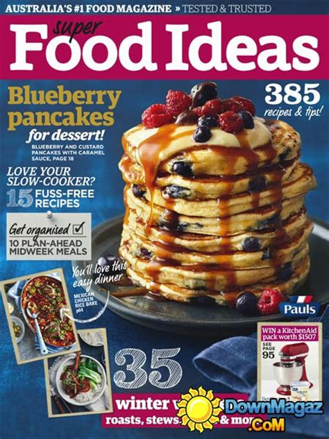 super food ideas australia july