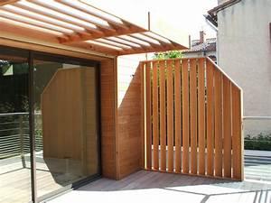 Brise Vue Pour Terrasse : brise vue en bois pour terrasse brise vue 60 cm chromeleon ~ Dailycaller-alerts.com Idées de Décoration