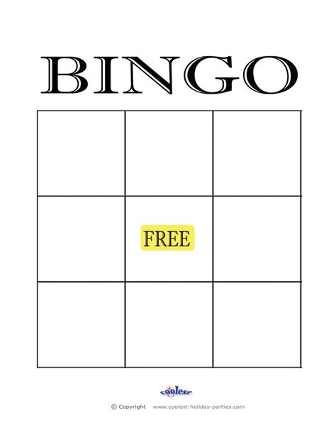 blank bingo cards ideas  pinterest bingo