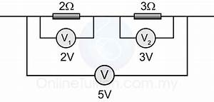 potential and potential difference in a circuit spm With potential change in a series circuit
