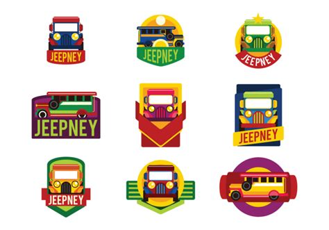 philippines jeepney vector jeepney labels vector téléchargez de l 39 art des
