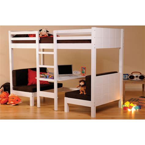 quiz wooden single bunk bed frame - Bunk Beds
