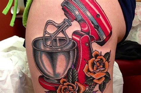 10 Awesome KitchenAid Tattoos