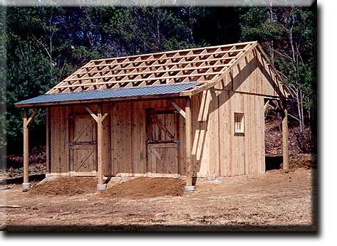small barn plans small barn plans with porch copyright 169 2003 dc