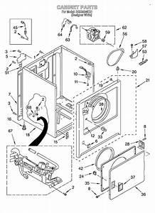 31 Roper Dryer Parts Diagram