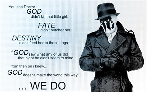 watchmen quote hd wallpaper background image