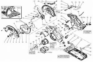 Milwaukee 2730 21 parts list and diagram for Circular saw diagram