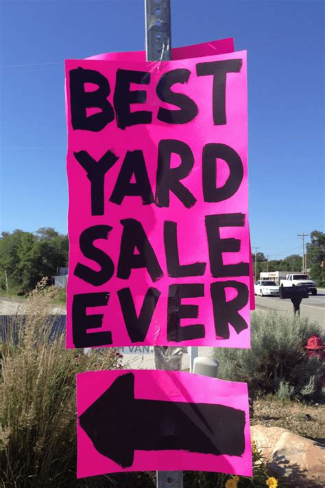 Backyard Sale by Yard Sale Saturday June 13 June 20 Everyday